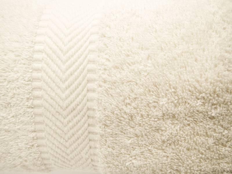 Handdoek 70 x 140 cm - natural white