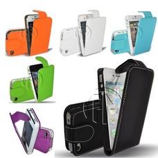 Phonetje iPhone 4G/S flipcase aanbieding met gratis screenprotector