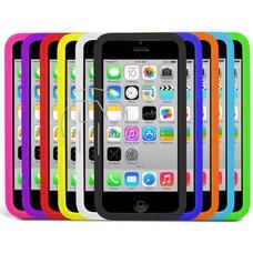 Phonetje iPhone 4G/S siliconen hoesje diverse kleuren met gratis screenprotector