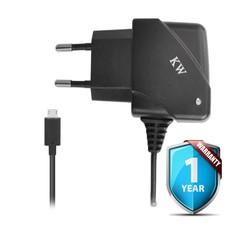 Phonetje Micro USB Thuislader Zwart (1000mAh)