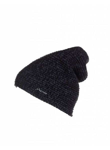 phenix Neo Black Powder Knit Hat - BK