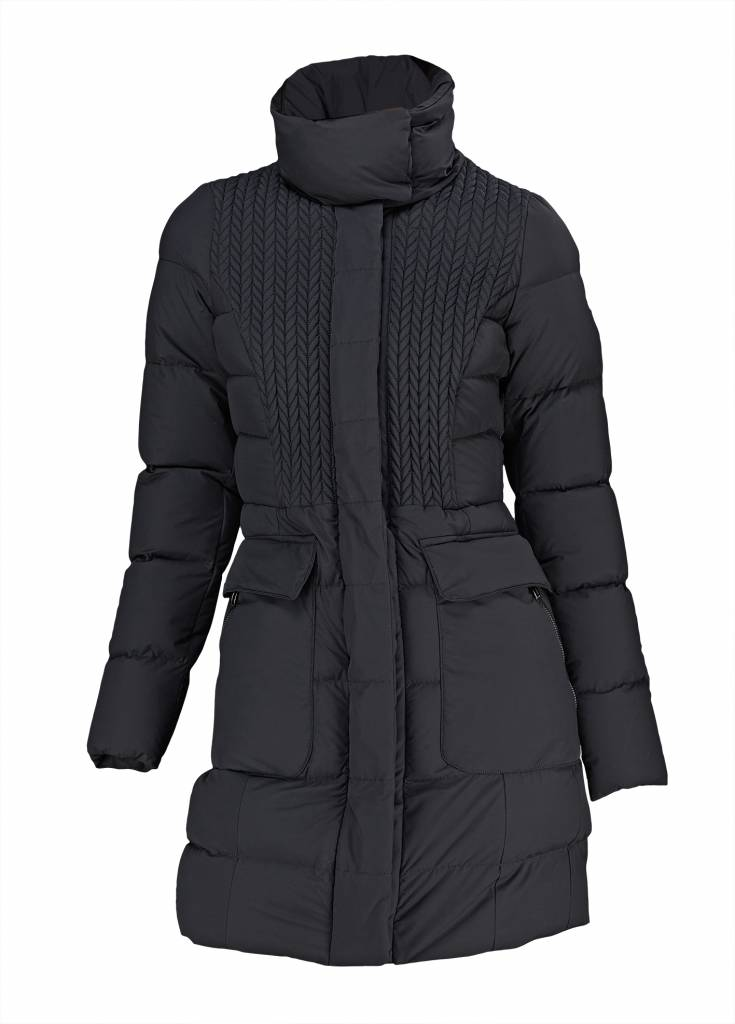 Post Card Deneb Coat - BK