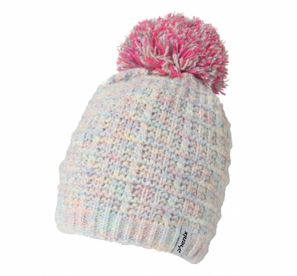 phenix Junior Groovy Knit Hat with Pon-Pon