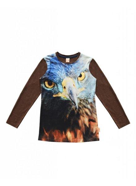 WILD kinderkleding Shirt Army blue eagle maat 104