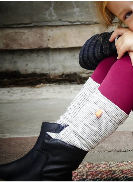 TOPitm Legging Kalla bordeaux
