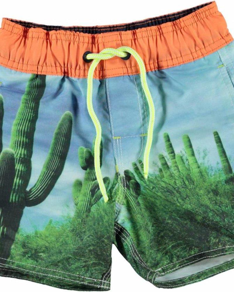 Claesens kinderkleding Boys Surfshort cactus print