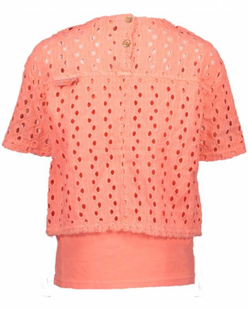 NoNo Tofie Lace blouse buttons