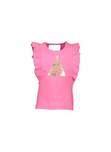 NoNo Tshirt Kopa fluo pink