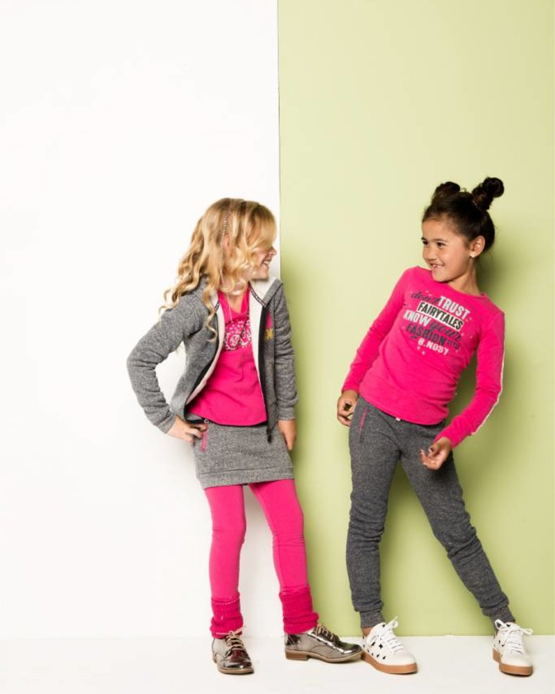 B.nosy Girls knitted legwarmer Color: bright rose