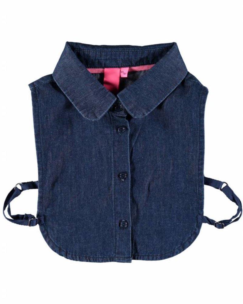 B.nosy Girls woven collar Color: midnight