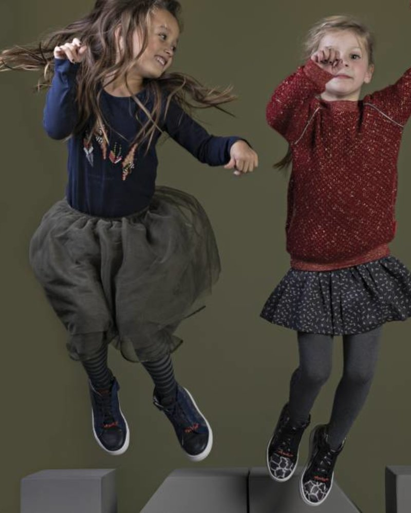 NoNo Nina long tule skirt Color: dusty olive