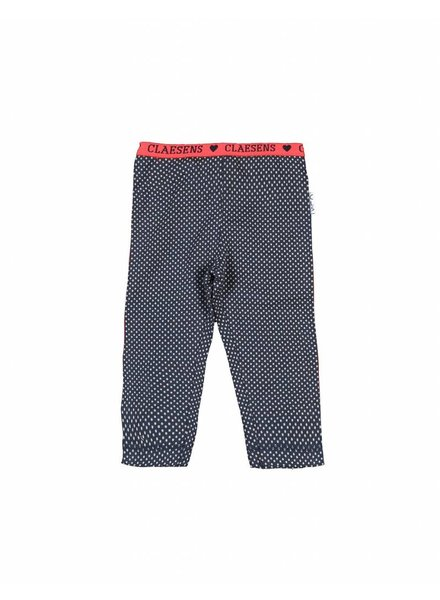 Claesens kinderkleding Baby girls legging small dots