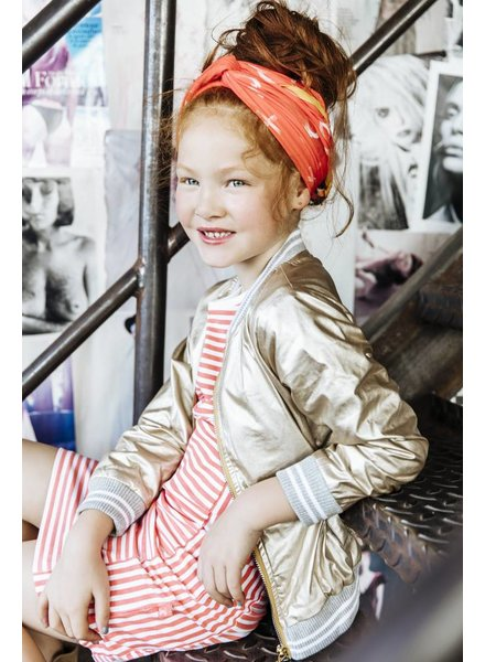 Little Miss Juliette Jacket Color: GLD