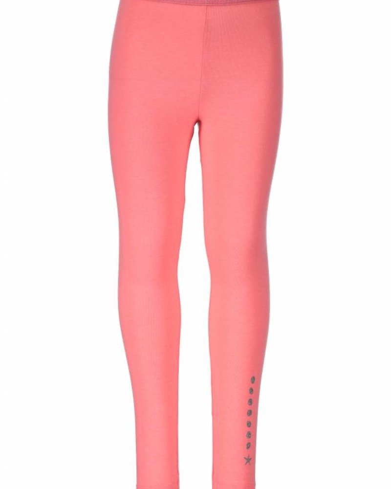 B.nosy Girls legging with fancy eleastic Color: Tutti frutti