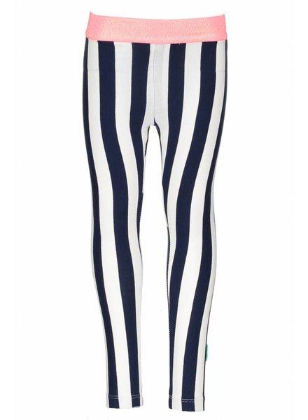 B.nosy Girls tregging with vertical stripe Color: Tutti frutti