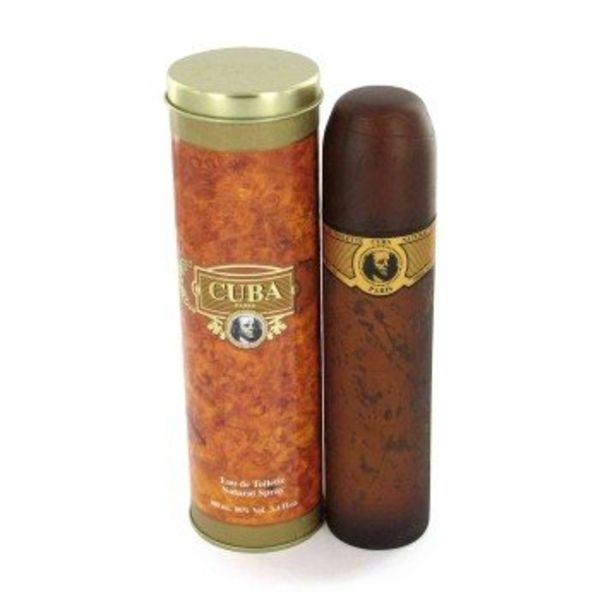 Fragluxe Cuba Gold Men eau de toilette spray 35 ml