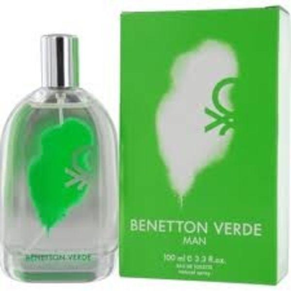 Benetton Verde Men Eau de toilette spray 100 ml