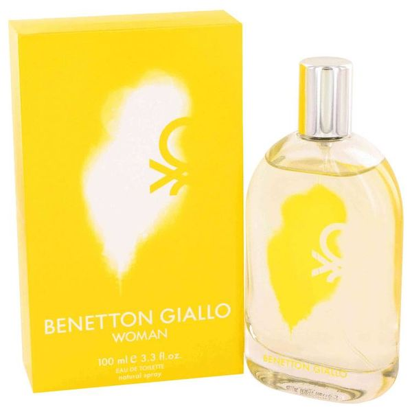 Benetton Giallo Woman eau de toilette spray 100 ml