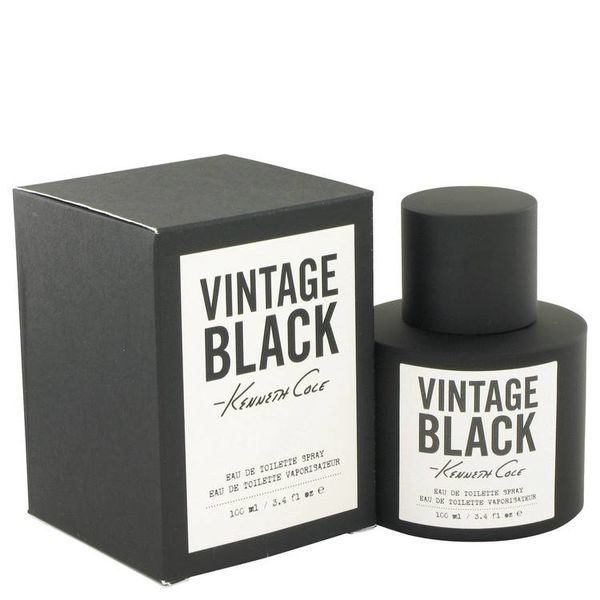 Kenneth Cole Vintage Black for Men EDT spray 100 ml