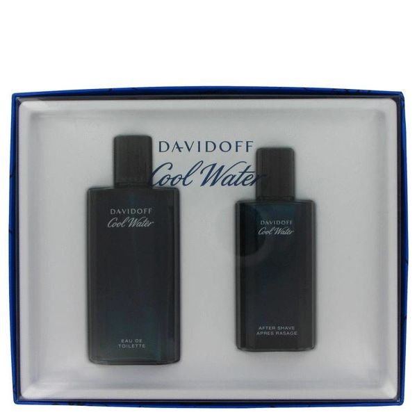 Davidoff Cool Water Men Giftset 125 EDT + 75 ml AS Splash
