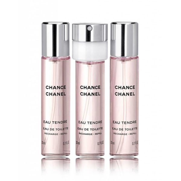 CHANEL CHANEL CHANCE EAU TENDRE FOR WOMEN - 3 DELIG - GESCHENKSET