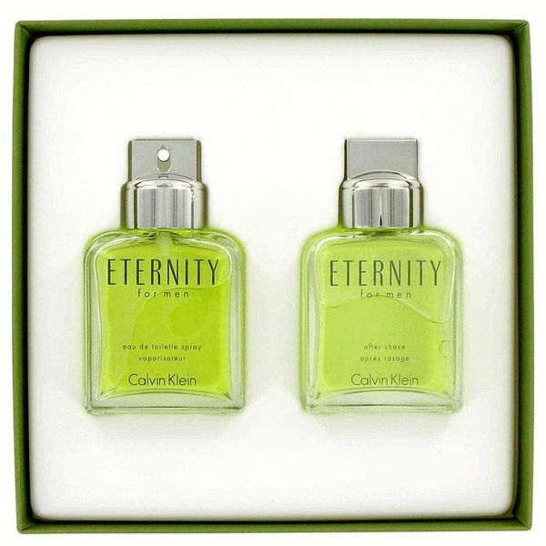 Eternity giftset - 100 ml EDT spray + 100 ml After Shave