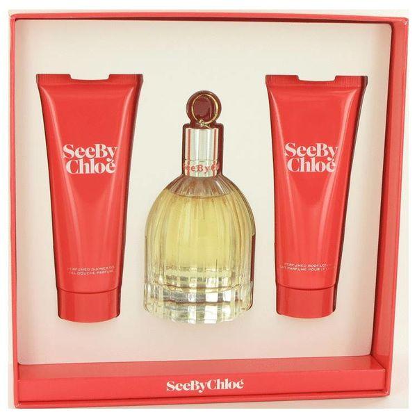 Chloe See gift set 75 ml eau de parfum + 75 ml body lotion + 75 ml shower gel