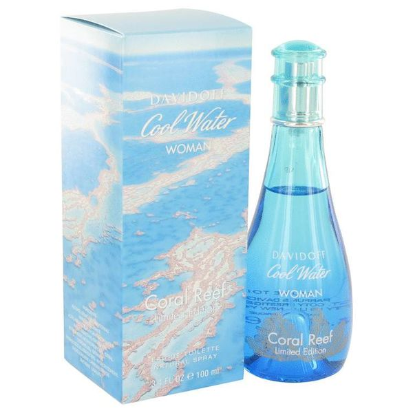 Davidoff Cool Water Coral Reef Edt Spray 100 ml (Limited Edition)