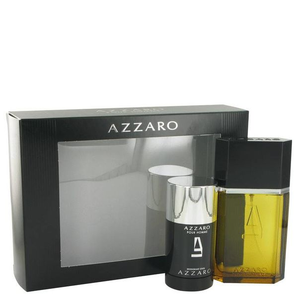Azzaro Pour Homme - 2-delig - Geschenkset 100 ml EDT + 75 ml deo stick