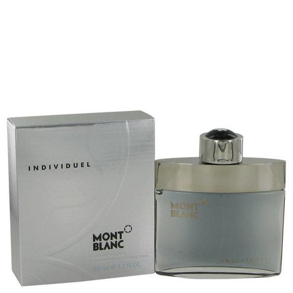 Mont Blanc Individuel Homme 50 ml Eau de Toilette Spray