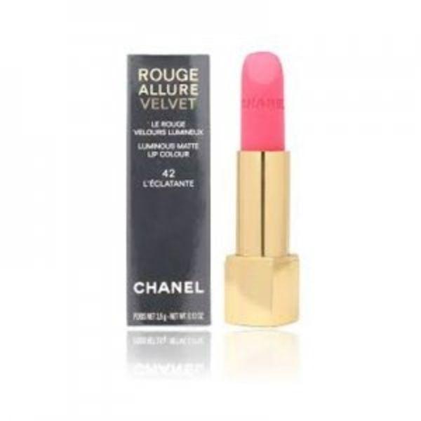Chanel Rouge Allure Velvet - #42 L'Eclatante - Lippenstift 3,5 gr