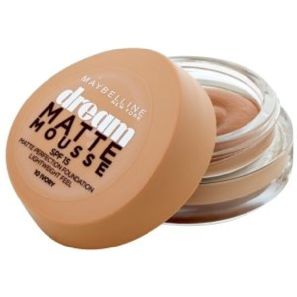 Maybelline Dream Matte Mousse Foundation SPF15 10 Ivory 18 ml