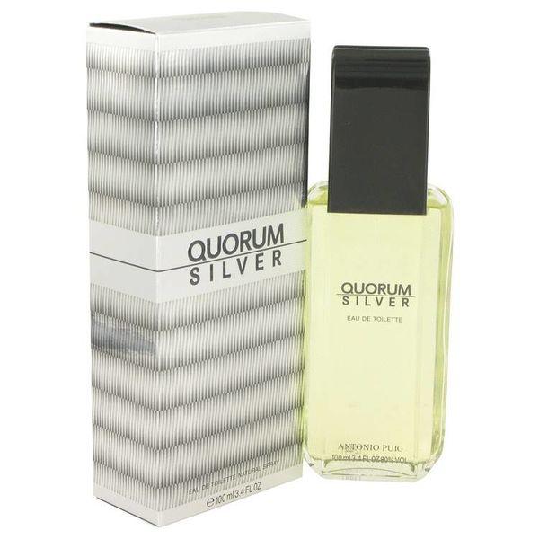 Antonio Puig Quorum Silver Eau de toilette Spray 100 ml