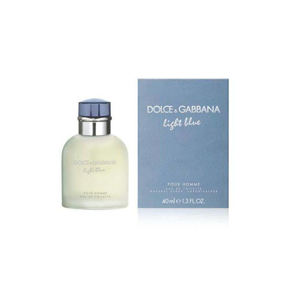 D&G Light Blue Pour Homme Edt Spray 40 ml