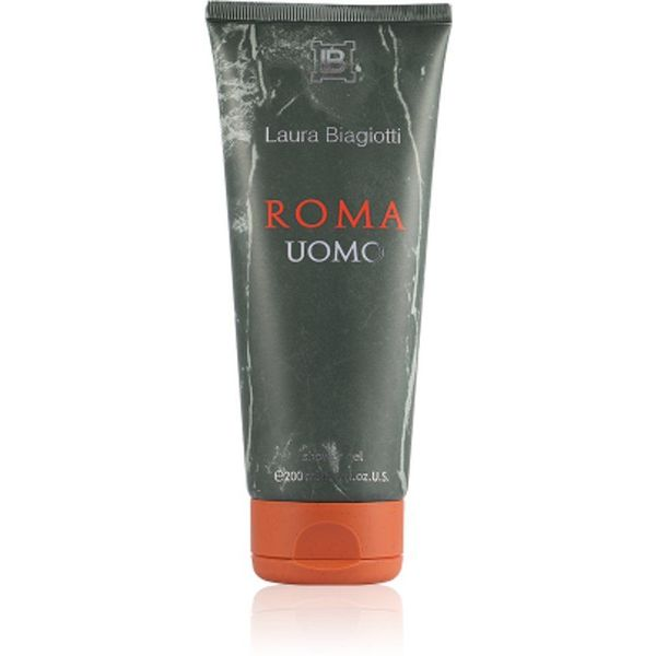 Laura Biagiotti Roma Uomo Shower Gel Unboxed 200 ml
