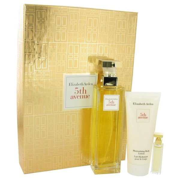 Elizabeth Arden 5th Avenue giftser met 125 ml EDP+ 100 ml bodylotion + mini EDP