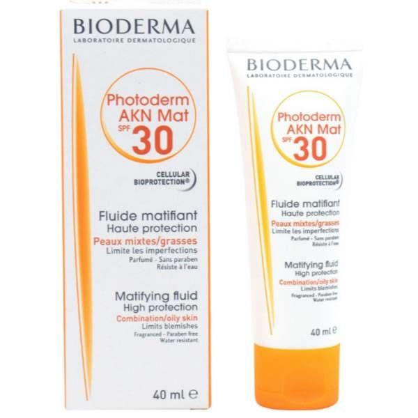 Bioderma Photoderm Akn Mat Fluide SPF30