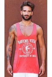 Tank Top Gym University of Ibiza One Ravens View - Red