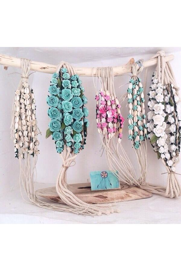 Blumen-String Large Chica Bonita - Aqua