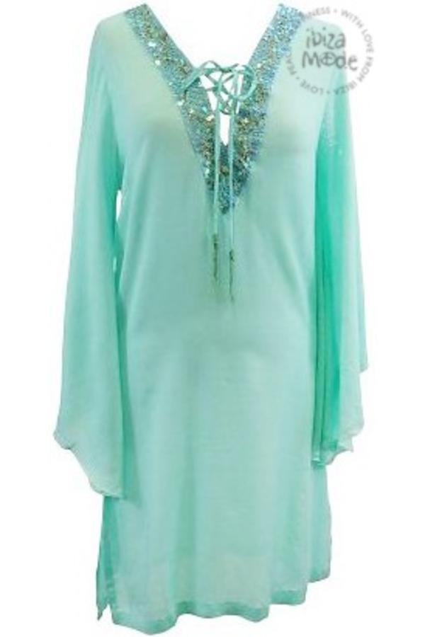 Hippy Chick ibiza ♥ Dress Naiad Hippychick - Mint