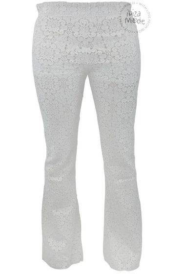 Trousers Quaker Miss June - Off White