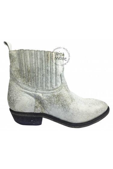 Olsen Claudia Chelsea Boots - White