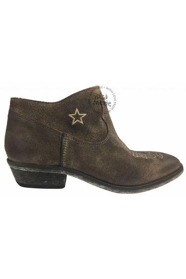 Olsen Boots Vesuvio Low Zip - Acajou