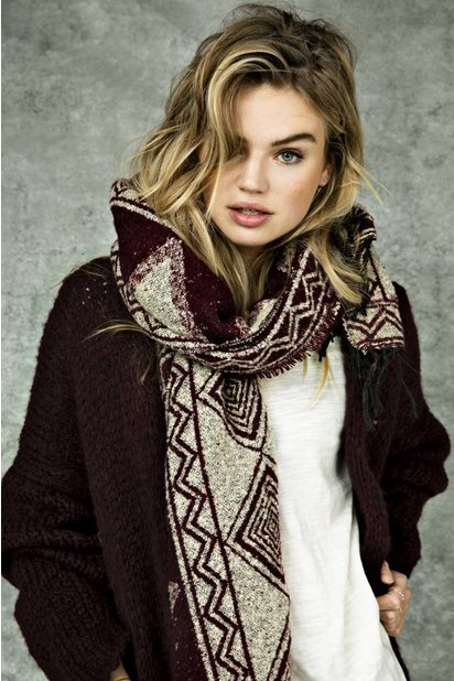 Circle of Trust Knitted Cardigan Luna Circle of Trust - Burgundy