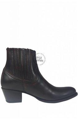 Sendra Low Boots Natur Antic Jacinto - Dark Brown