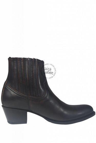 Low Boots Natur Antic Jacinto - Dark Brown