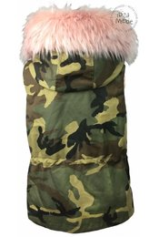 Weste Camouflage - Soft Pink