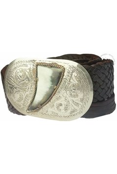 Belt Stone - Dark Brown
