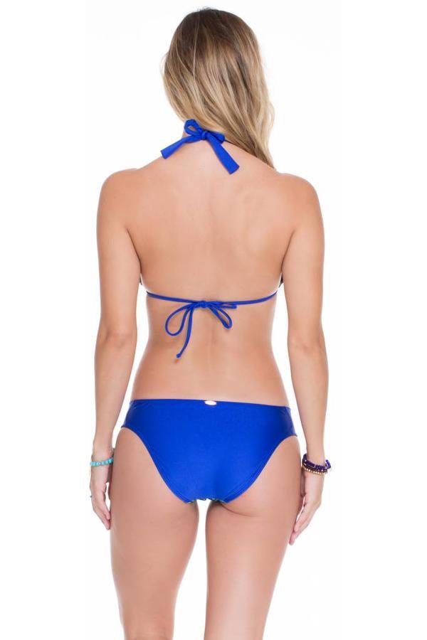 Luli Fama Bikini Triangle Top Luli Fama - Electric Blue