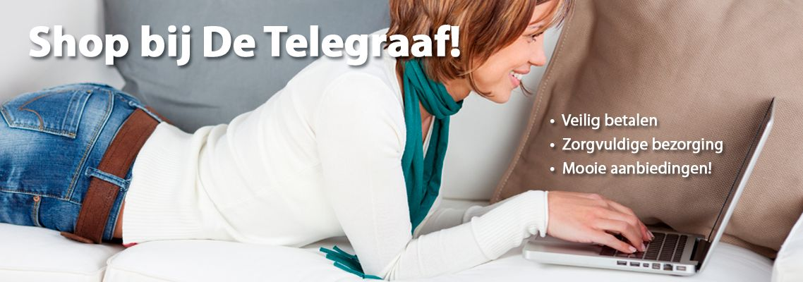 Welkom bij De Telegraaf Shop